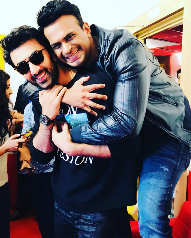 Sid K with Ranbir