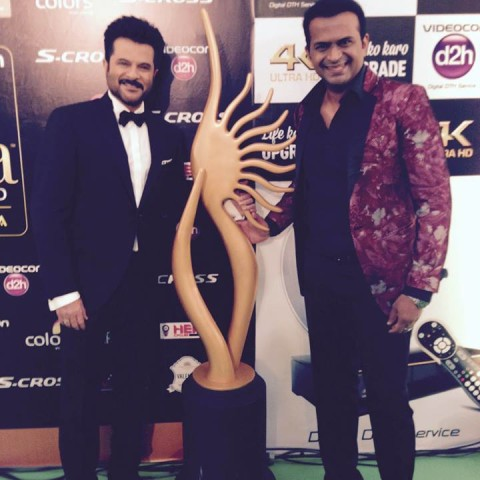 Sid K with Anil  Kapoor
