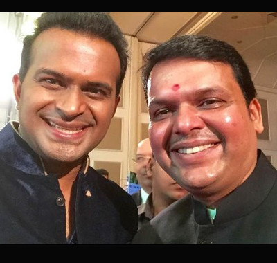 Sid K with Devendra Fadnavis