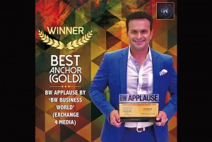 Best Anchor (Gold) The Business World Applause Awards