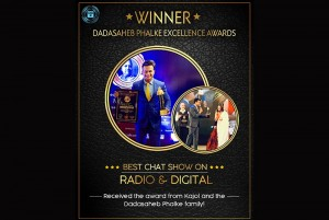 Best Chat Show on Radio & Digital Dadasaheb Film Excellence Awards 2019