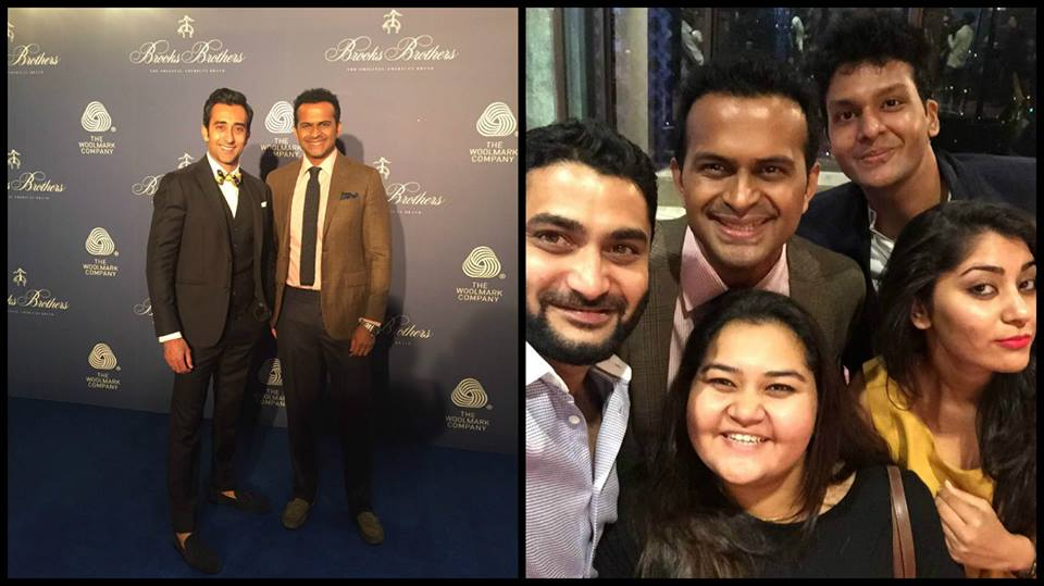 Hosted 'Brooks Brothers ' event with Rahul Khanna!