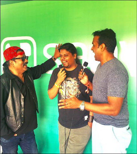 Hosted live @Saavn at the Bacardi Enchanted Valley Carnival ! 2