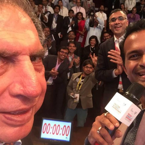 Hosted the Historic 'Tie Con 2016' with Mr. Ratan tata, Ronnie Screwvala, Kunal Bahl-Founder,Snapdeal & other Corporate Icons!
