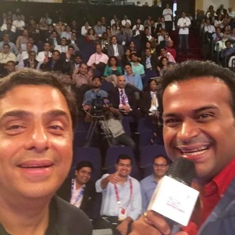 Hosted the historic TiEcon 2016 with Ronnie Screwvala & other Corporate Icons!