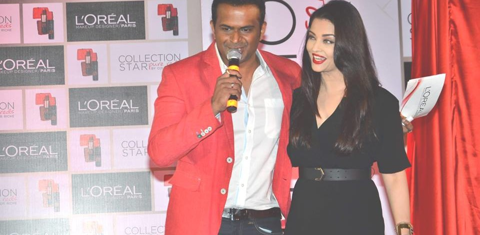 Sid K with Aishwarya Rai