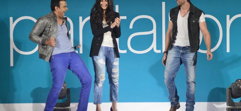 Sid K with Katrina and Hrithik