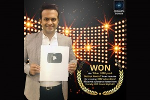 Silver 100k Push Button Award YouTube