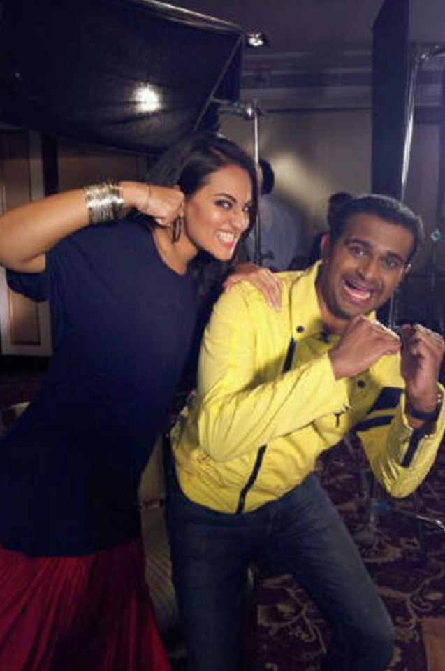 Sid K with Sonakshi Sinha
