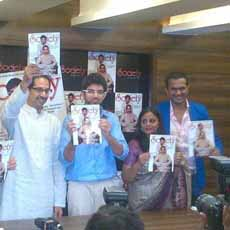 Sid k with Udhav & Aditya Thackeray