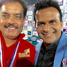 Sid k with Dilip Vengsarkar-Sports