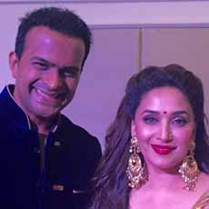 Sid K with Madhuri Dixit