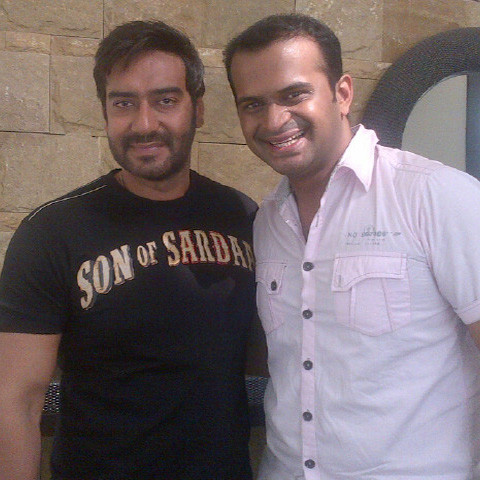 Sid K with Ajay