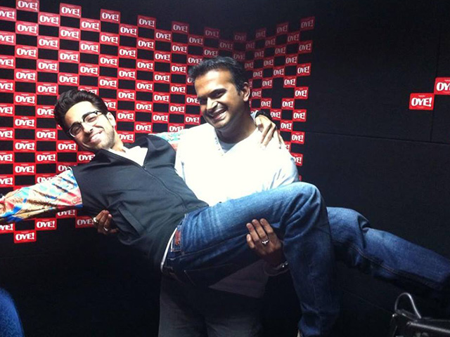Sid K with Ayushman Khurana