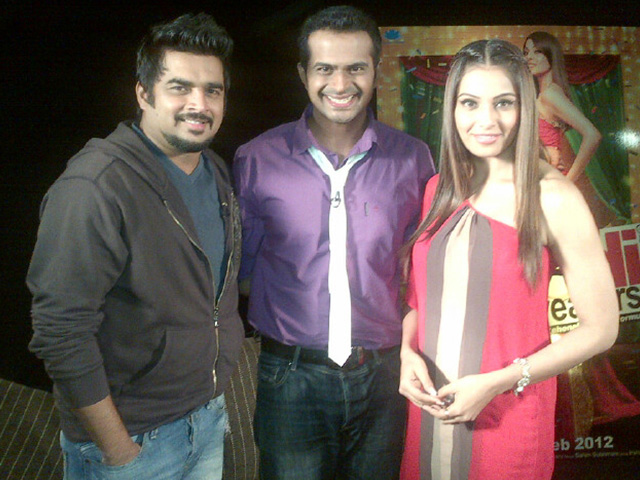 Sid K with A R madhavan and Bipasha Basu