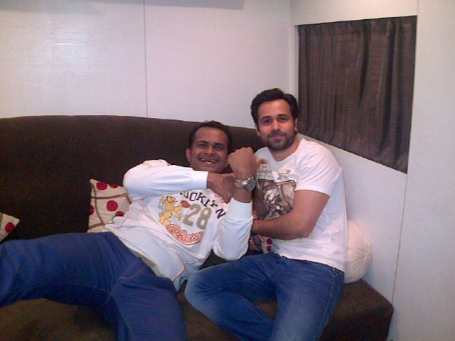 Sid K with Emraan Hashmi