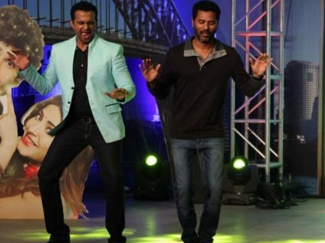 Sid K with Prabhu deva