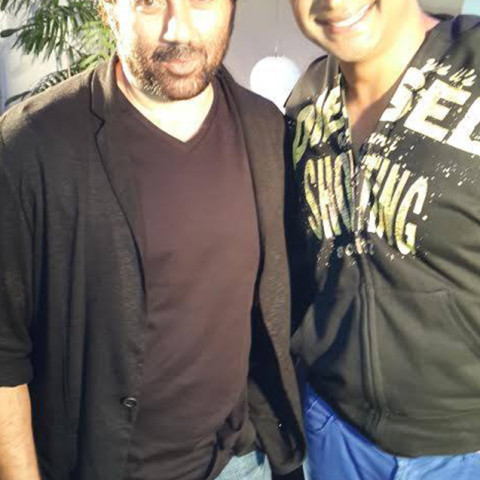 Sid K with Sunny Deol