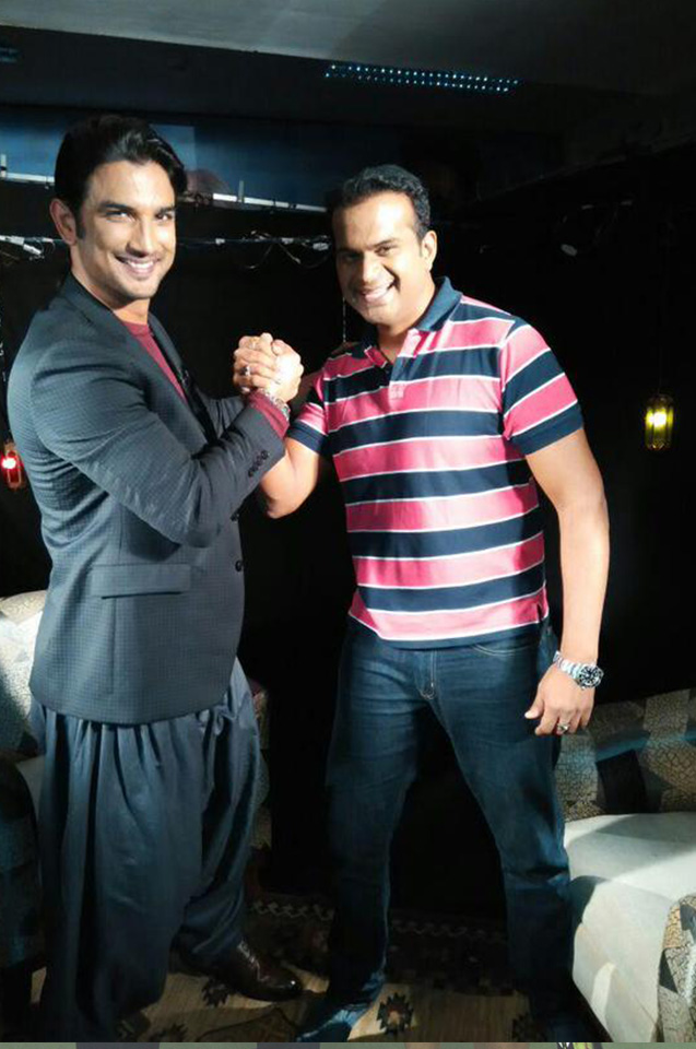 Sid K with Sushant
