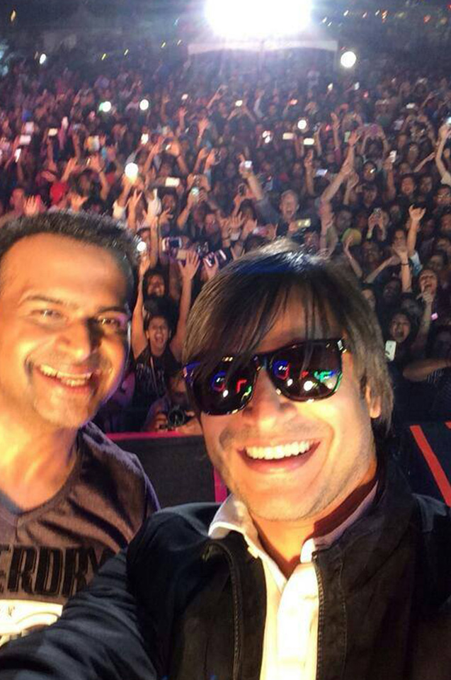 Sid K with Vivek Oberai