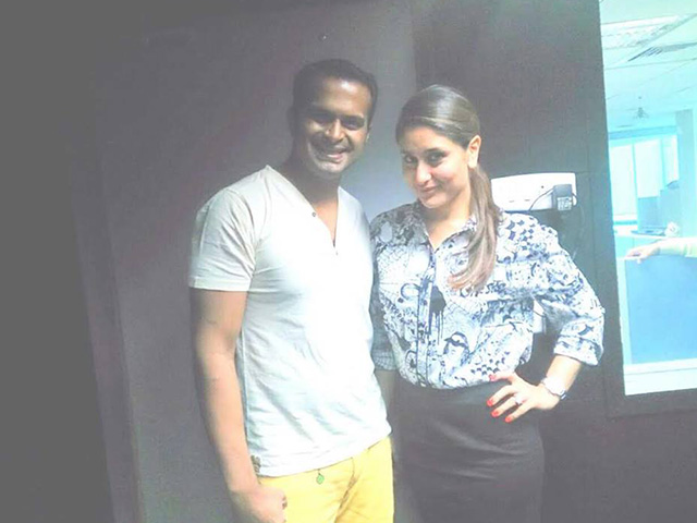 Sid K with Kareena Kapoor