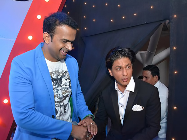 Sid K with Shahrukh Khan