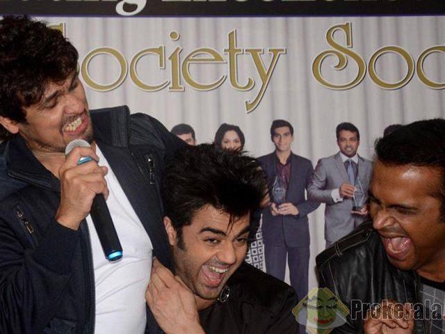 Sid K With Sonu Nigam And Manish Paul