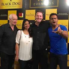 Sidk with Colin Mochrie & Brad Sherwood