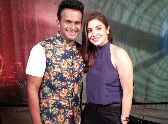 Sid K with Anushka Sharma