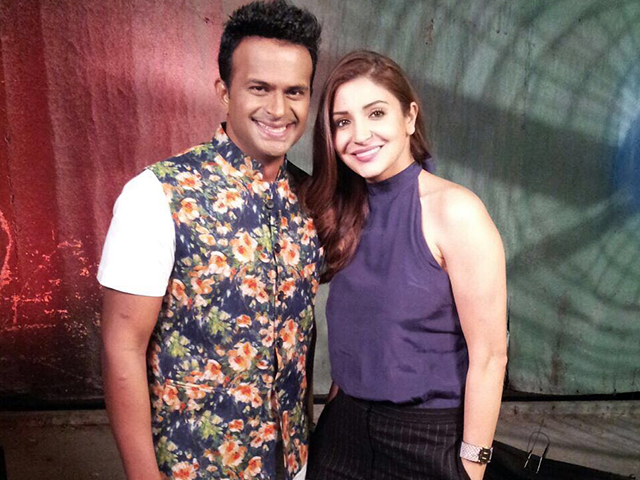 SidK with Anushka Sharma