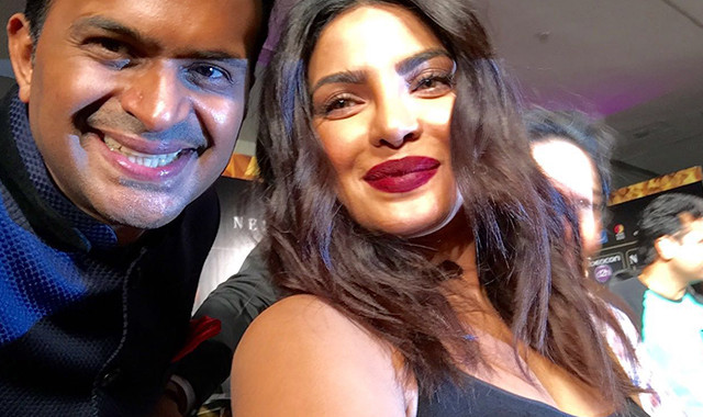 Sid K with Priyanka Chopra