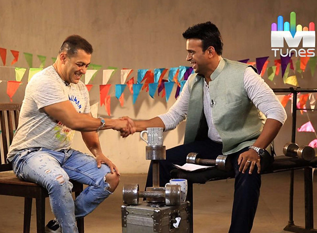 Sid K with Salman Khan