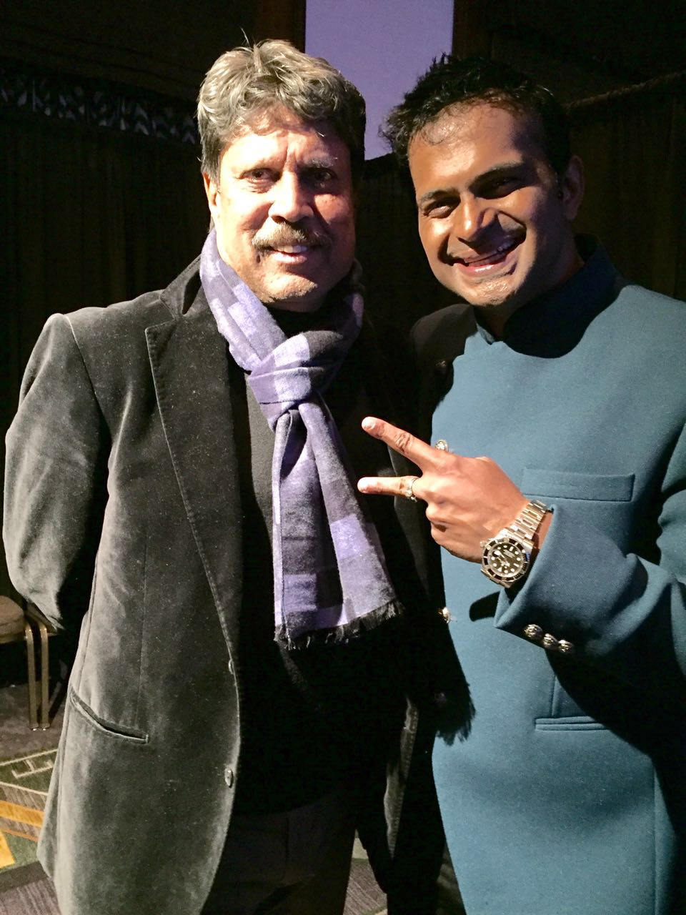 Sidk With Kapil Dev